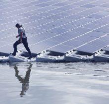 Panneaux photovoltaïques flottants